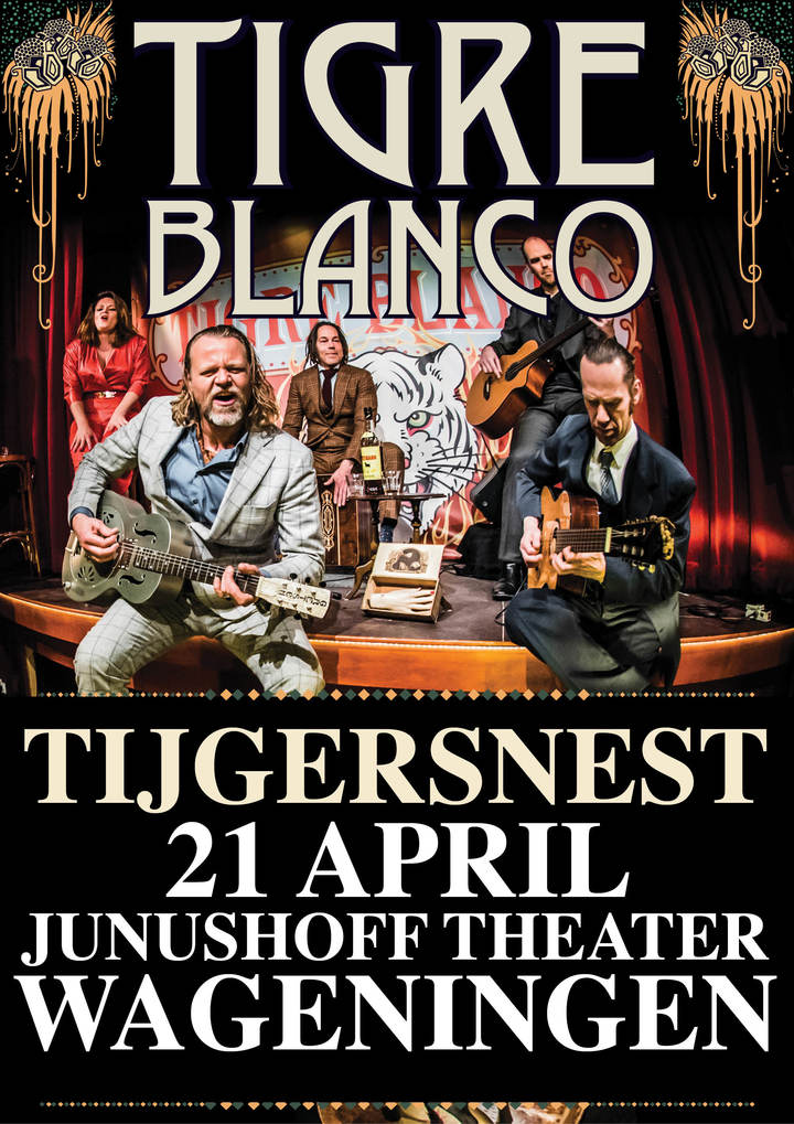 Tigre Blanco @ Junushof theater - Wageningen, Netherlands