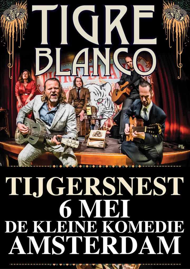 Tigre Blanco @ De Kleine Komedie - Amsterdam, Netherlands