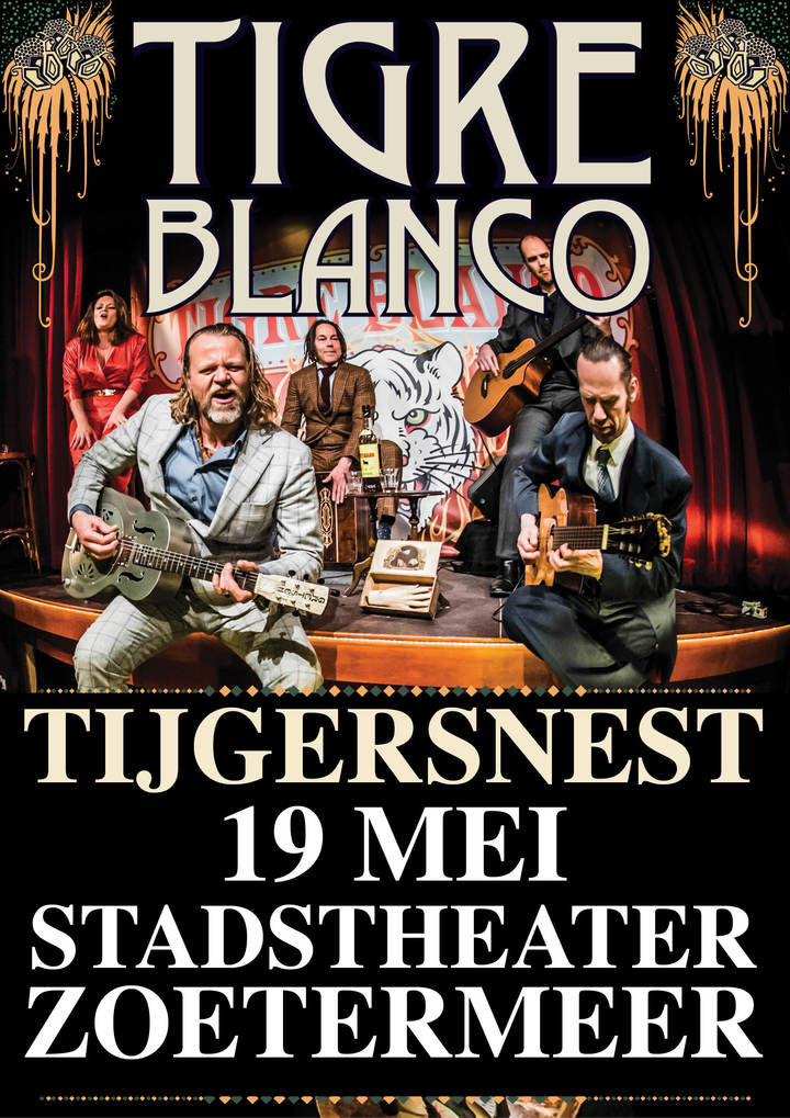 Tigre Blanco @ Stadstheater - Zoetermeer, Netherlands