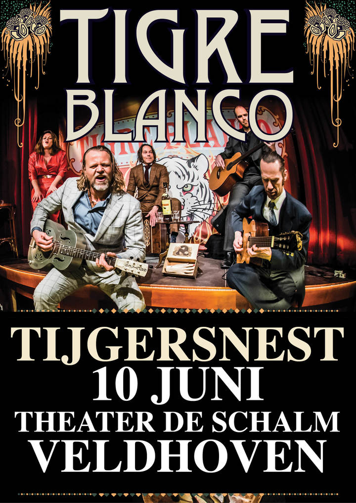 Tigre Blanco @ Theater De Schalm - Veldhoven, Netherlands