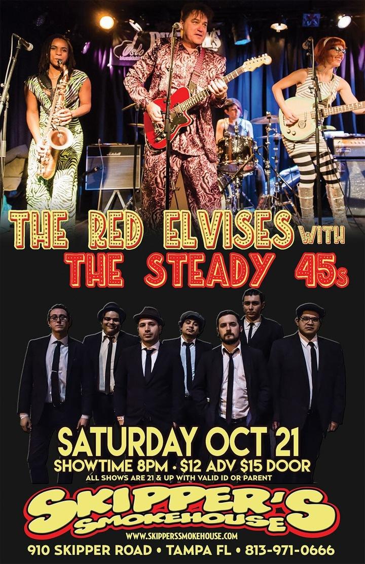 Red Elvises @ Skipper's Smokehouse - 910 Skipper Road - Tampa, FL