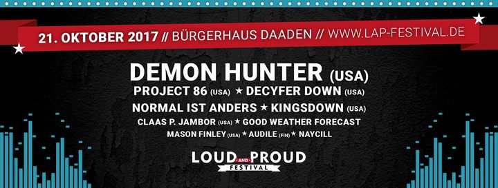 Demon Hunter @ Citizen House - Daaden, Germany