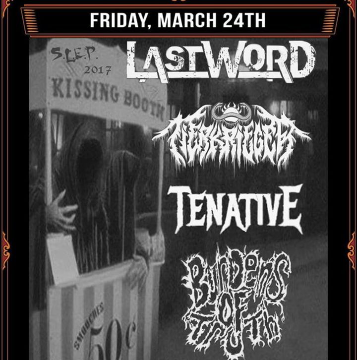 Mortuary Whore Tour Dates