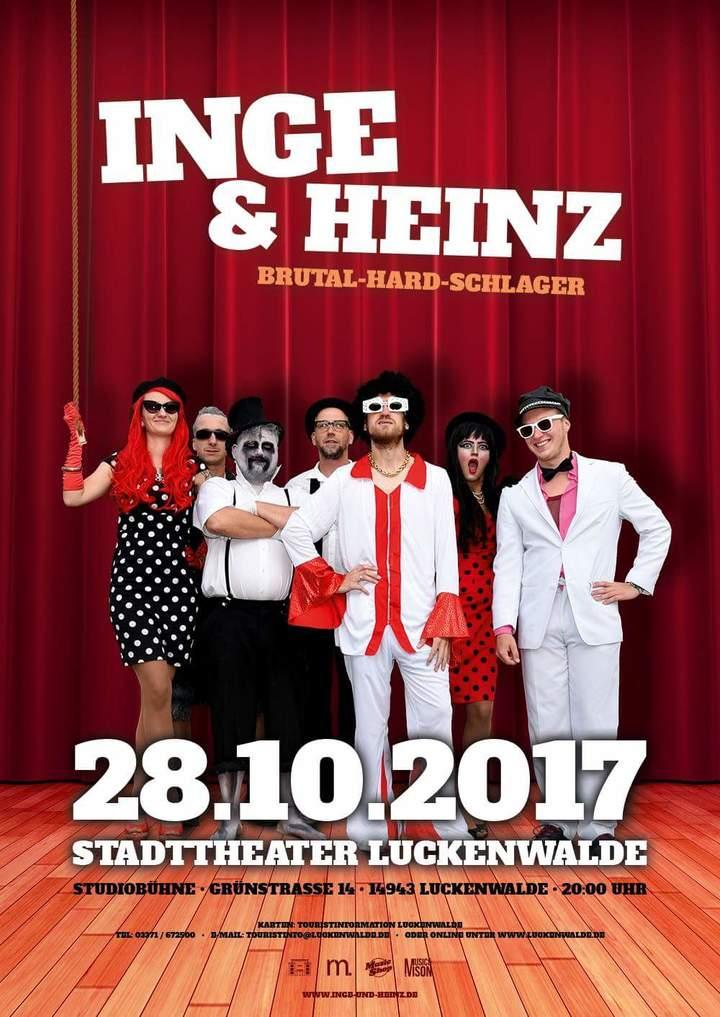 Inge & Heinz @ Stadttheater Luckenwalde  - Luckenwalde, Germany