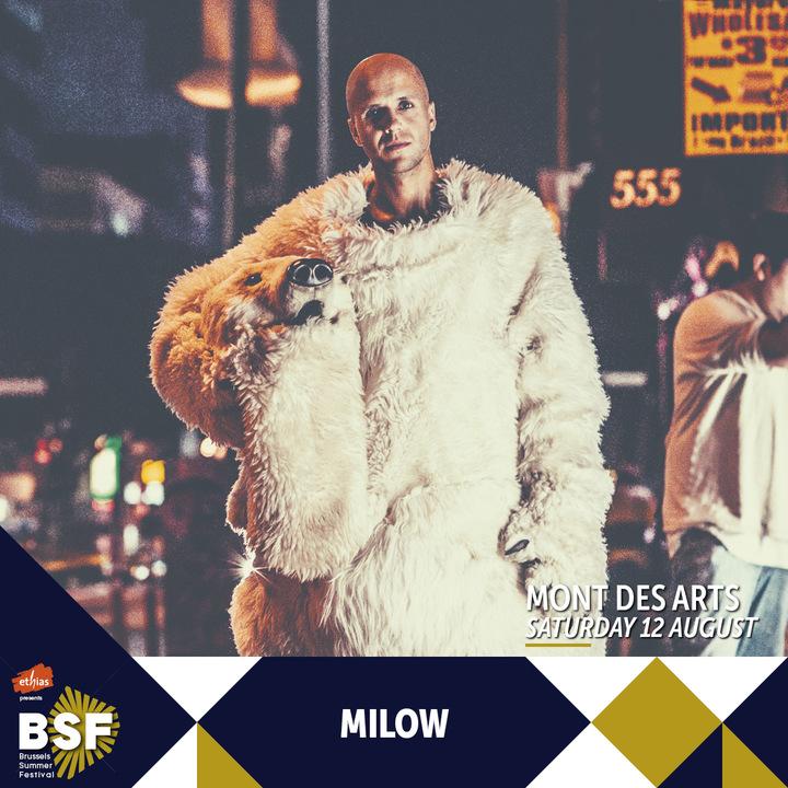 Milow @ Brussels Summer Festival - Brussels, Belgium