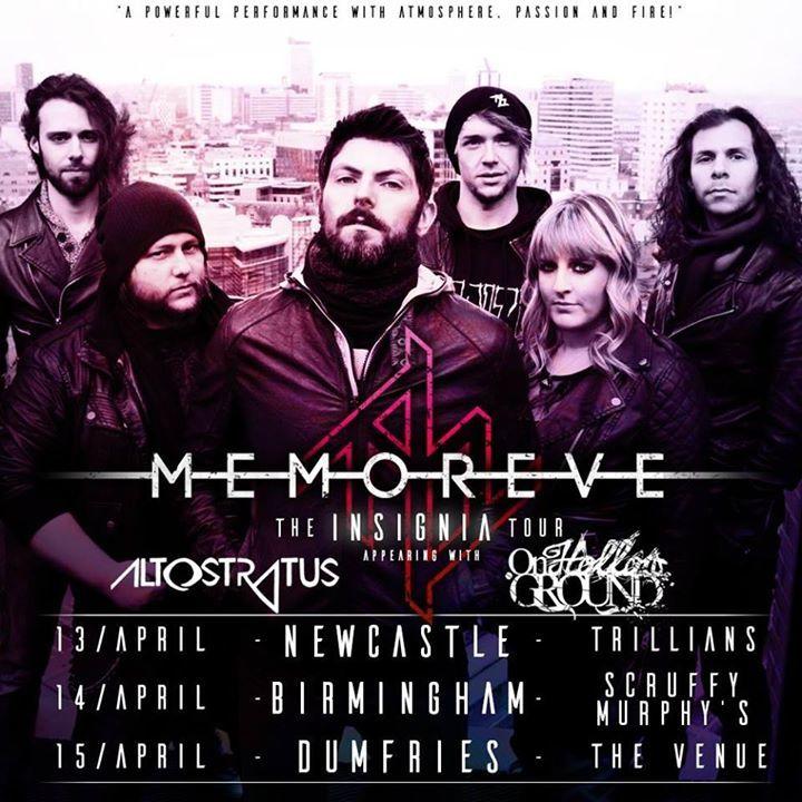 Memoreve Tour Dates