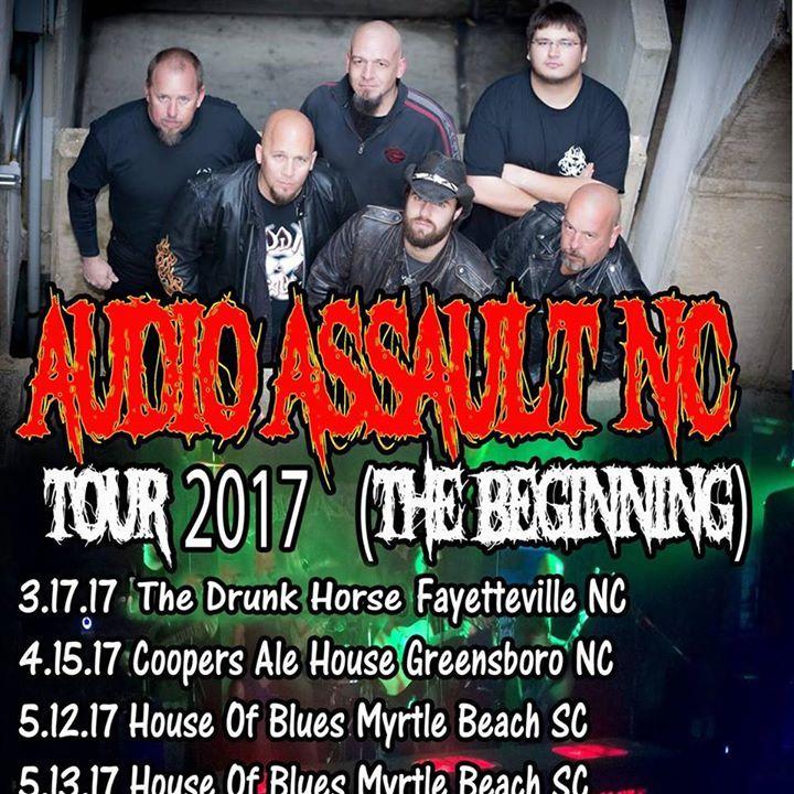 Audio Assault NC Tour Dates