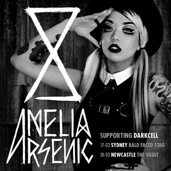 Amelia Arsenic Tour Dates