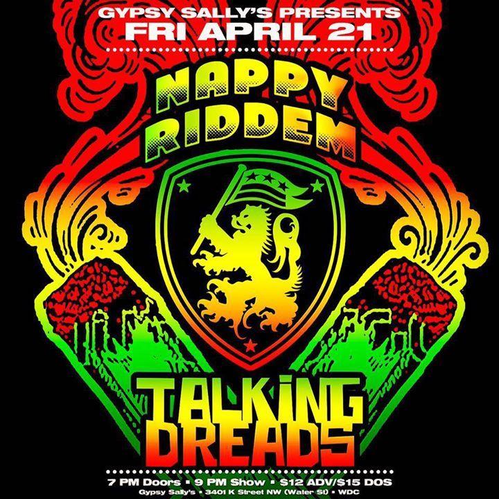 Nappy Riddem Tour Dates