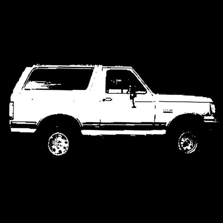 White Ford Bronco @ Gypsy Sally's - Washington, DC