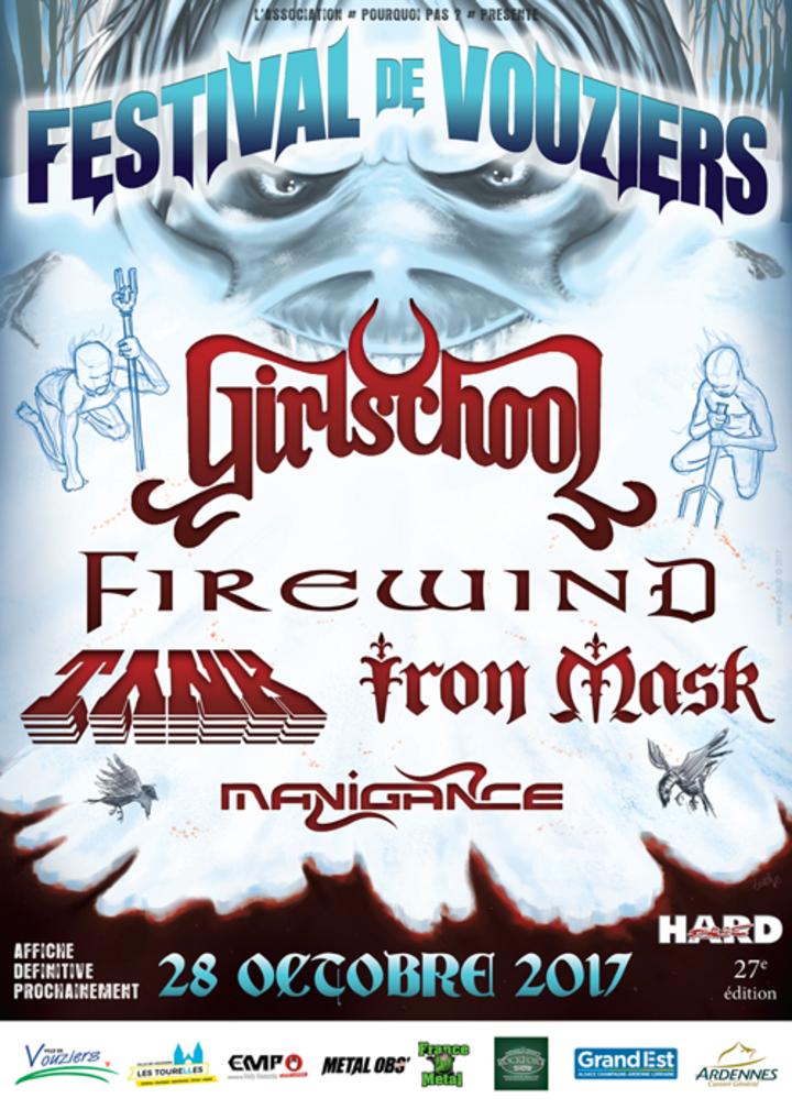 Firewind @ Festival de VOUZIERS - Vouziers, France