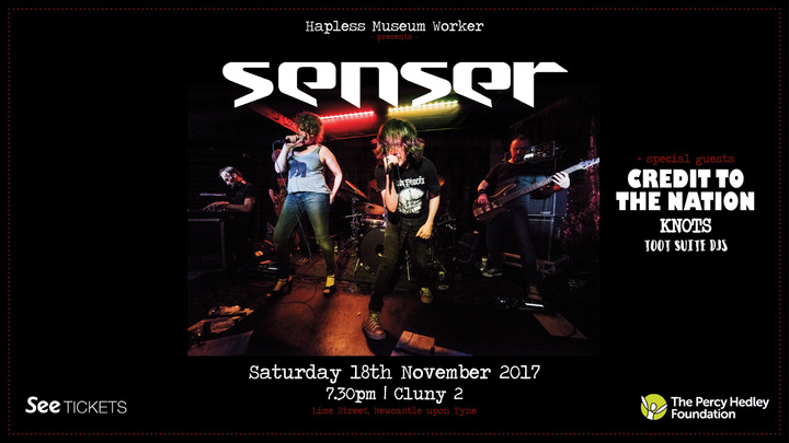 Senser @ Cluny 2 - Newcastle, United Kingdom