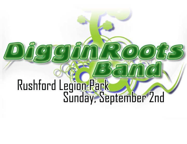 Diggin Roots Band @ Rushford Legion Park - Rushford, NY