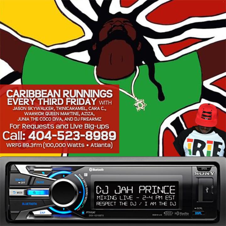 Jah Prince @ WRFG 89.3fm - Atlanta, GA