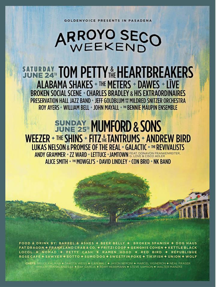 Weezer @ Brookside Park - Pasadena, CA