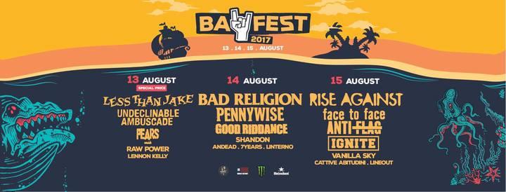 7Years @ Bay Fest - Rimini, Italy