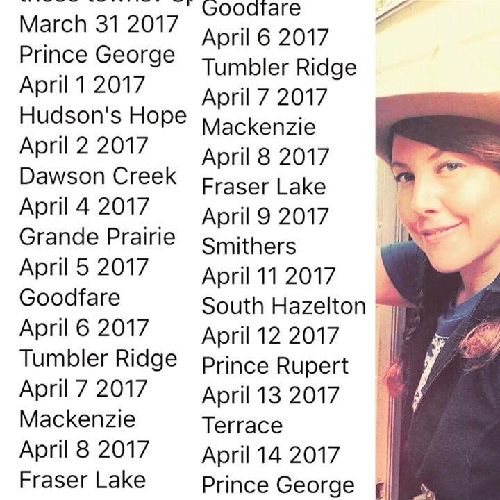 T. Nile Tour Dates
