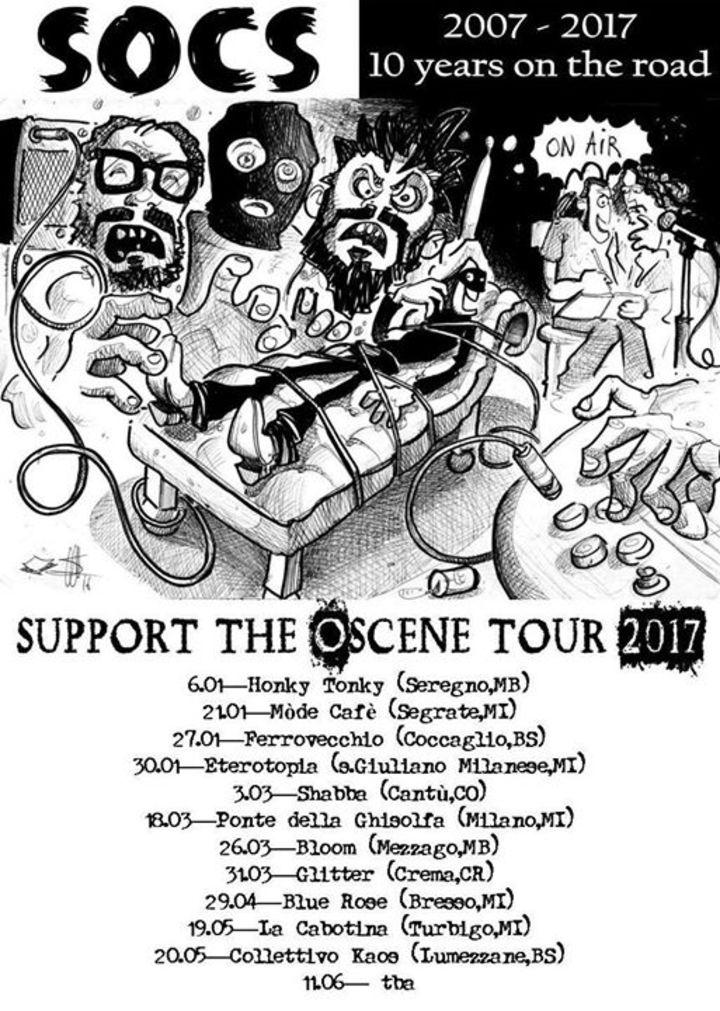 Socs Rock Tour Dates