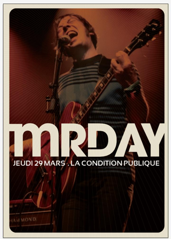 Mr DAY Tour Dates