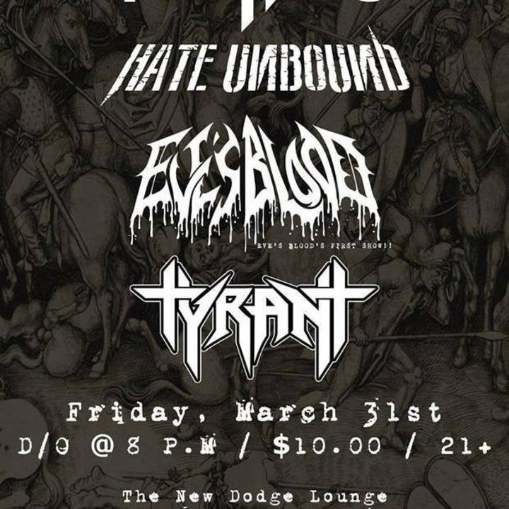 Hate Unbound Tour Dates