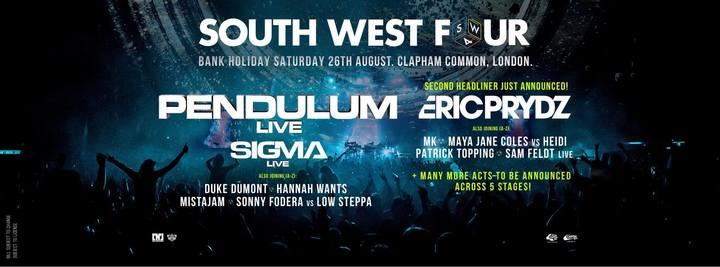 VJ Tenner @ SOUTH WEST 4 FESTIVAL - London, United Kingdom