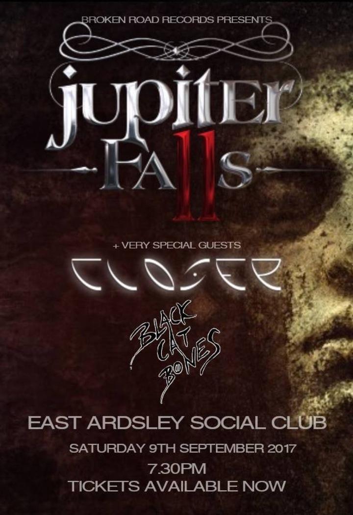 Jupiter Falls @ Easy & West Ardsley Social Club - Wakefield, United Kingdom