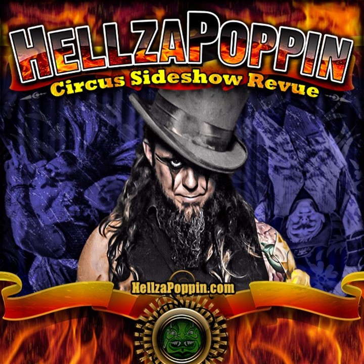 Hellzapoppin Circus Sideshow @ House Of Horrors Haunted Attraction - Miami, FL