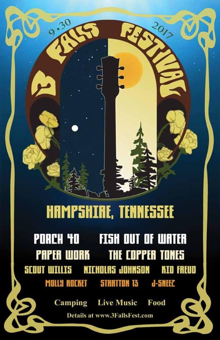 PaperWork @ 3 Falls Festival - Hampshire, TN
