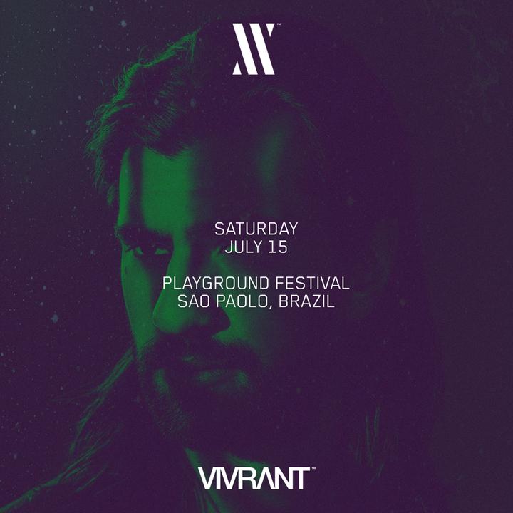 Jeremy Olander @ PLAYGROUND FESTIVAL - Sao Paulo, Brazil