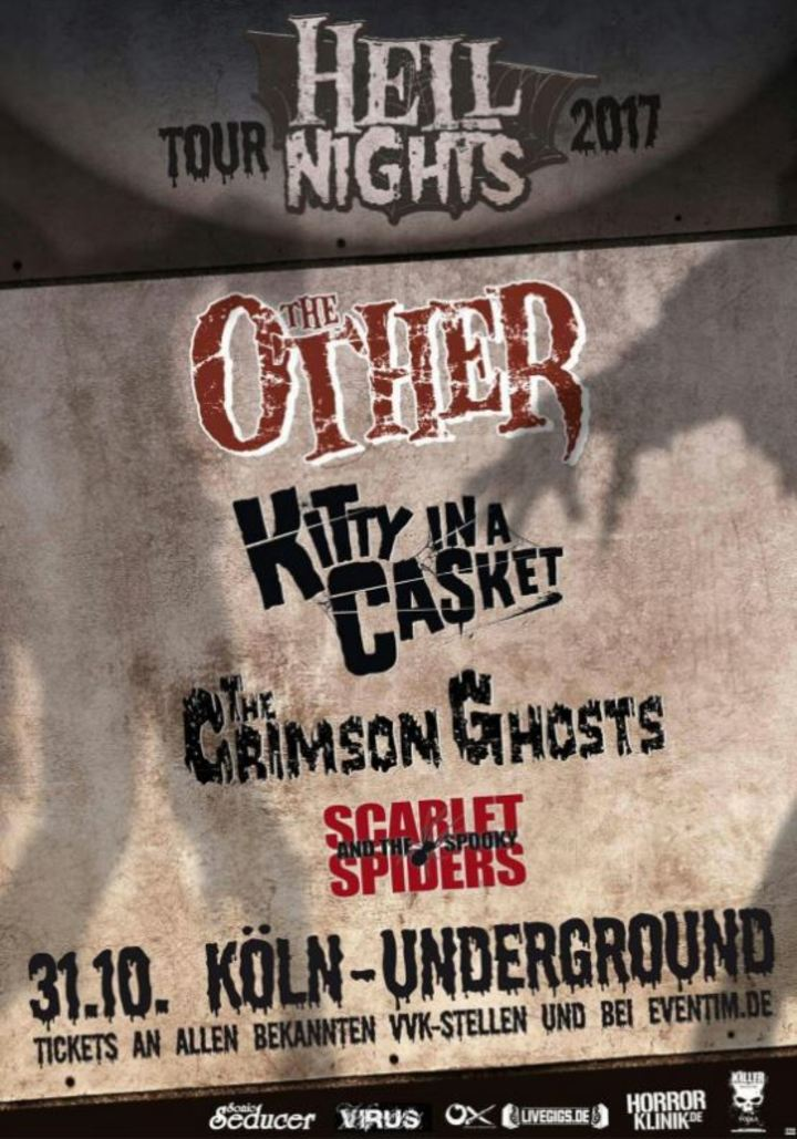 The Crimson Ghosts @ Underground - Koln, Germany