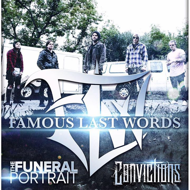 famous last words @ The Rail Club - Fort Worth, TX