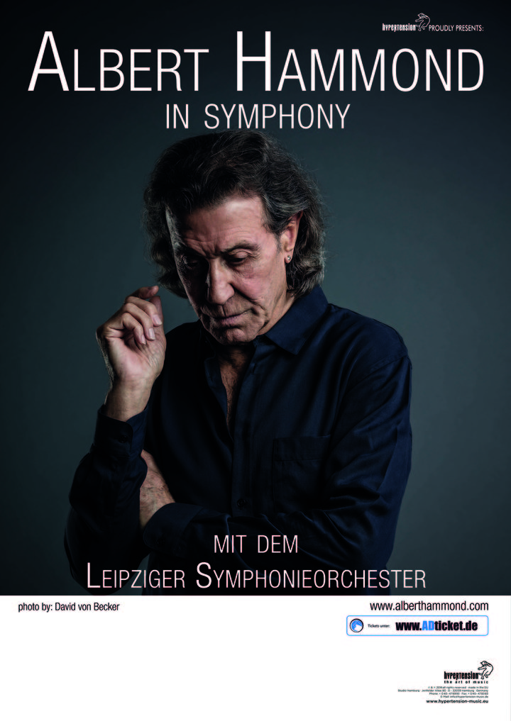 Albert Hammond @ 3Arena - In Symphony - Dublin, Ireland
