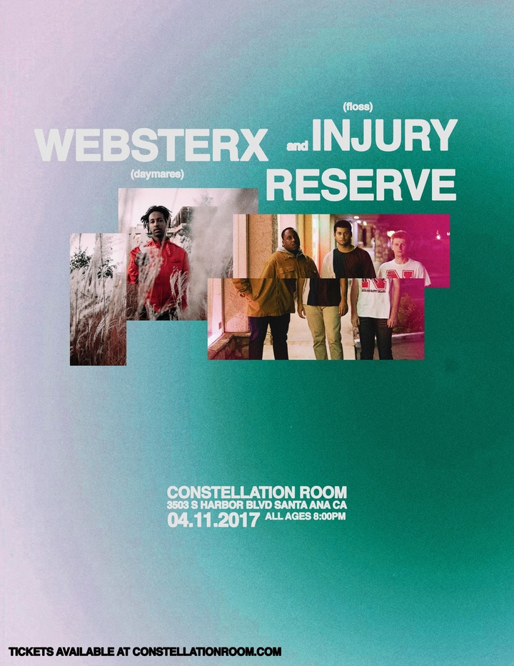 WebsterX @ Constellation Room - Santa Ana, CA