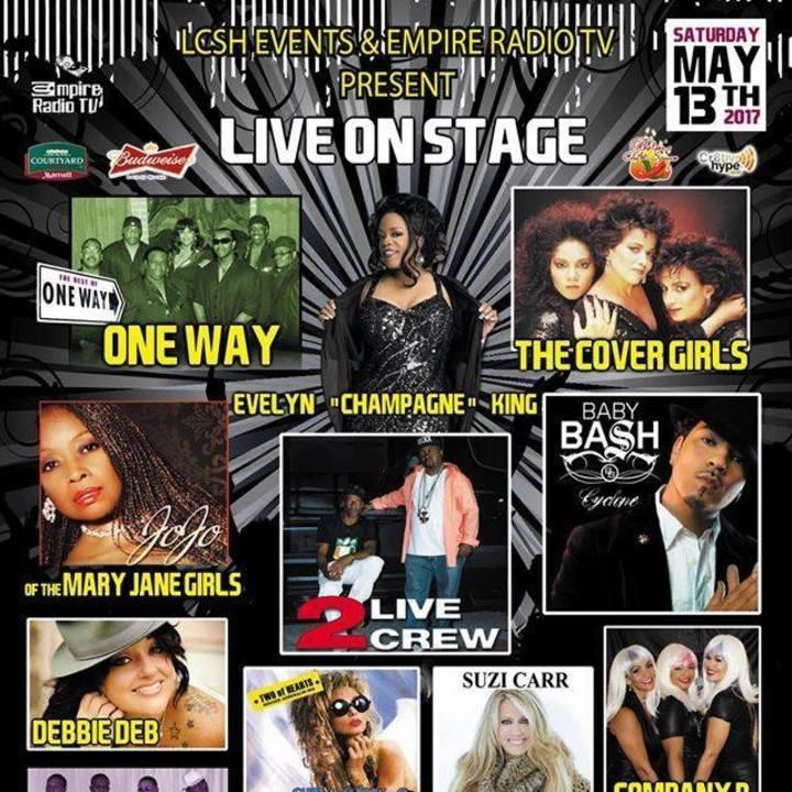 The 2 Live Crew Tour Dates