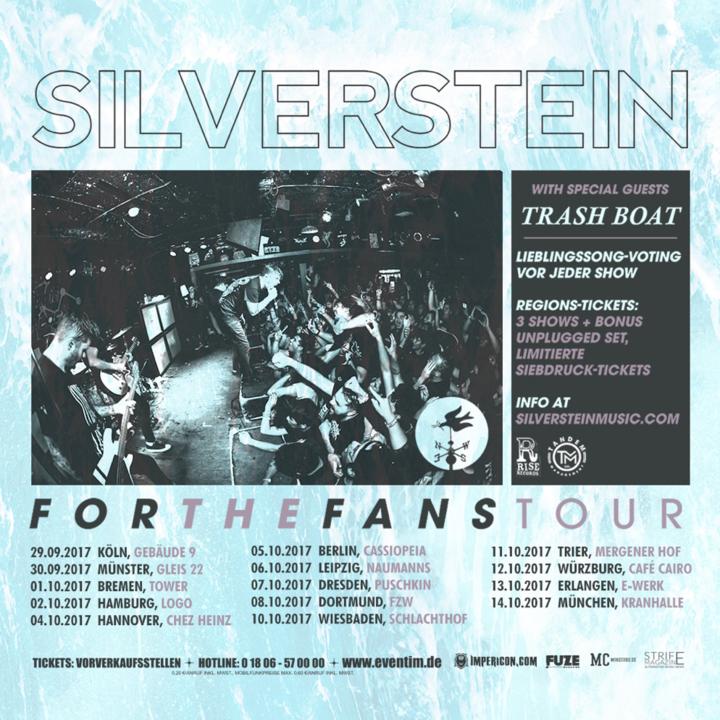 Silverstein @ E-Werk - Erlangen, Germany