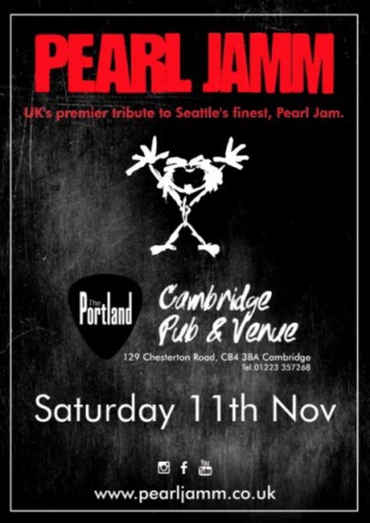 Pearl Jamm @ Portland Arms - Cambridge, United Kingdom