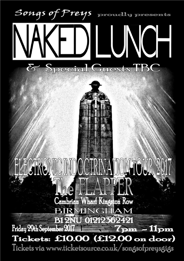 Naked Lunch @ the Flapper  - Birmingham, United Kingdom
