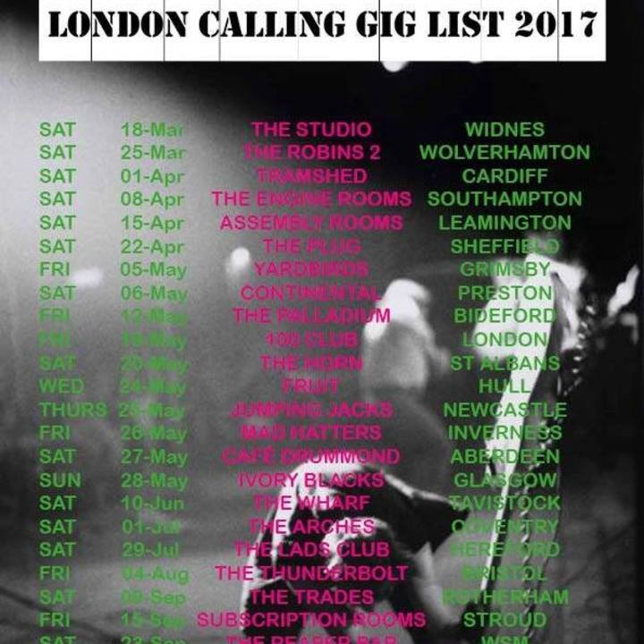 London Calling UK @ THE IRON ROAD - Evesham, United Kingdom