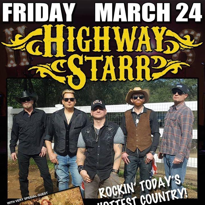 Highway Starr Tour Dates