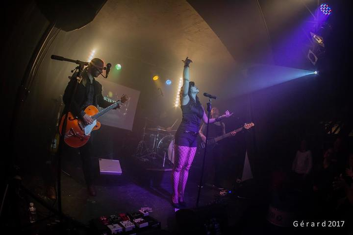 Jewly - Official fanpage @ Festival Garçon la Note - Villiers-Louis, France