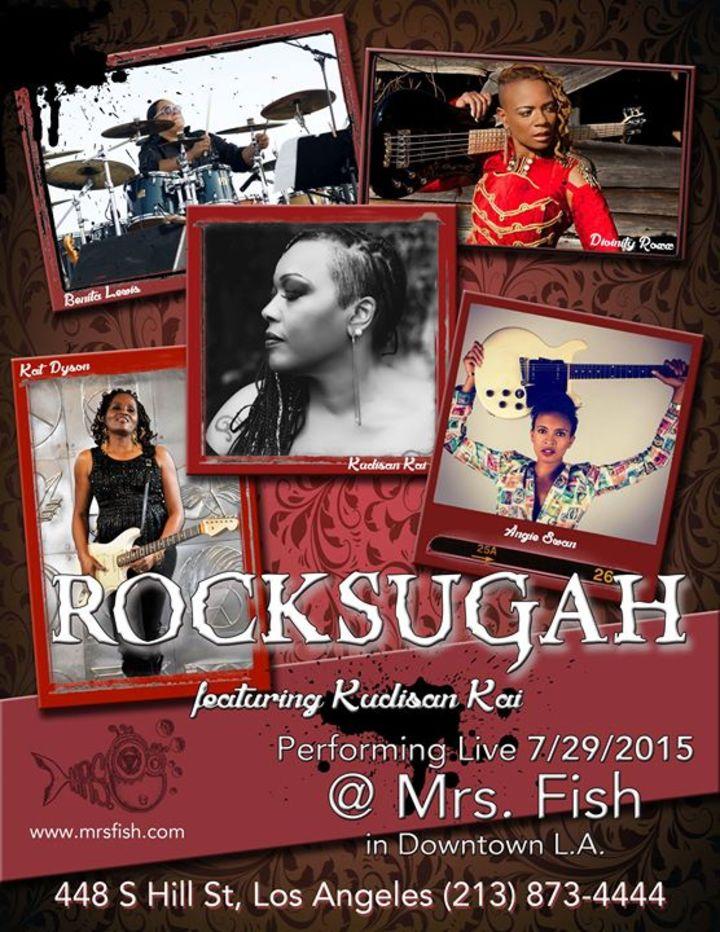 Rocksugah Tour Dates