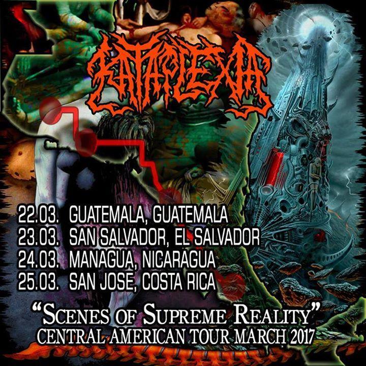 Kataplexia Tour Dates