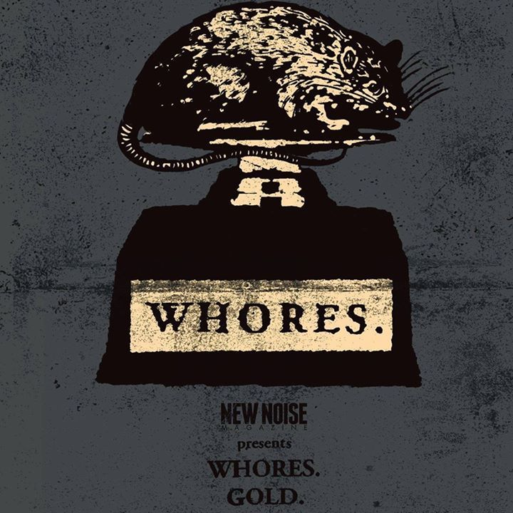 Whores. @ Wonder Ballroom w/ Red Fang and Torche - Portland, OR
