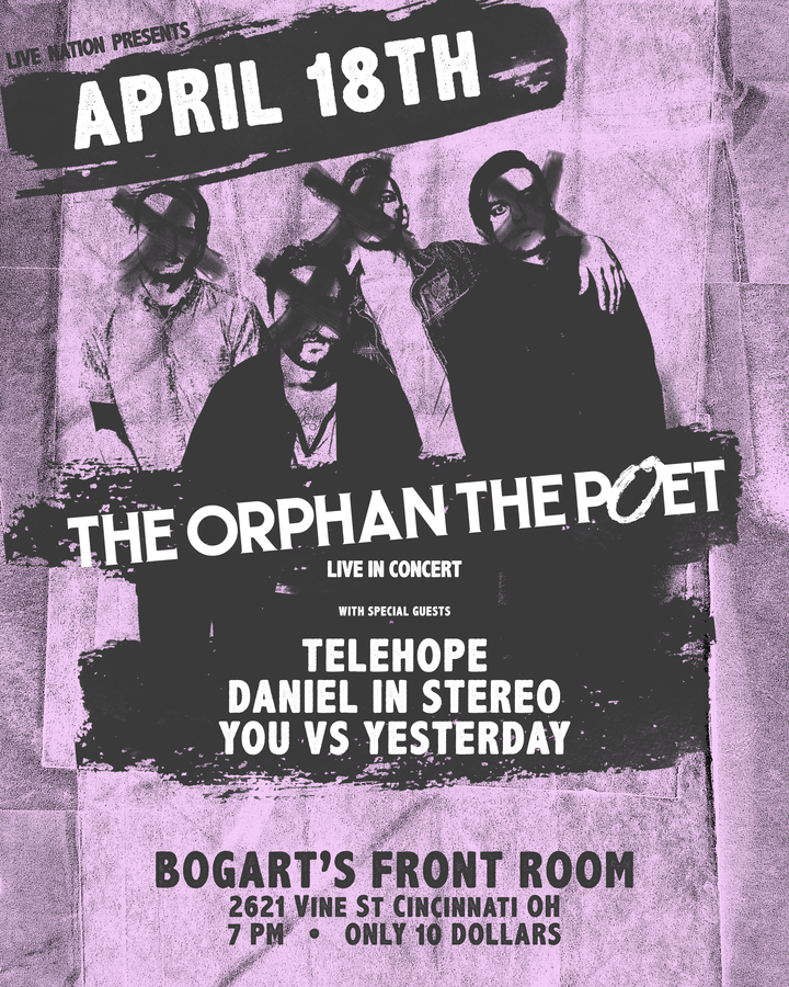 the Orphan the Poet Bogart s Front Room Cincinnati OH  the Orphan the Poet  Cincinnati. Front Room Cincinnati   emotibikers com