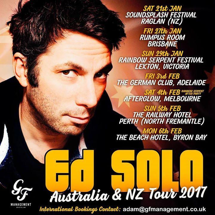 Ed Solo Tour Dates