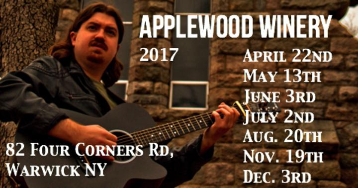 Kyle Hancharick @ Applewood Winery - Warwick, NY