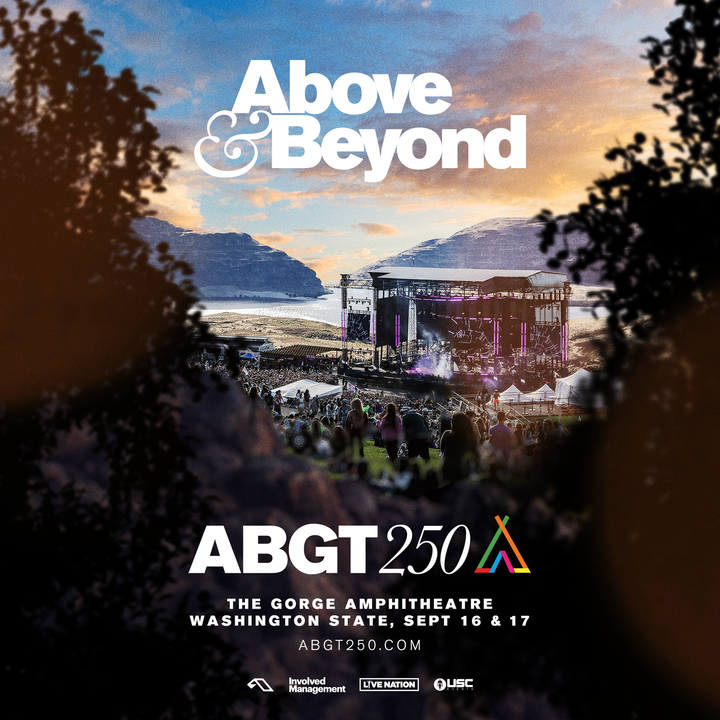 Above & Beyond @ The Gorge Amphitheatre - George, WA
