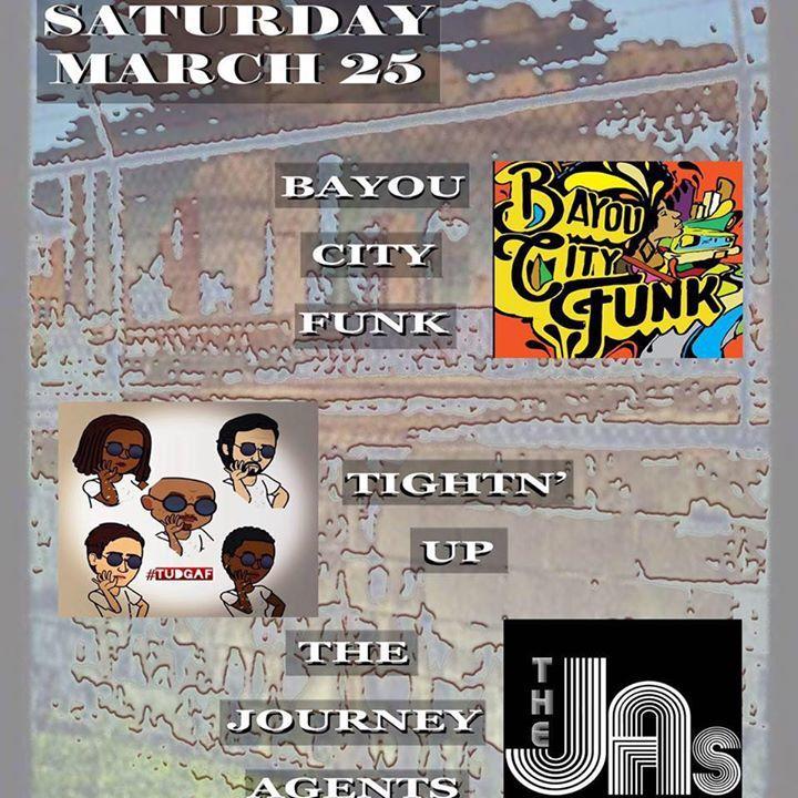Bayou City Funk Tour Dates