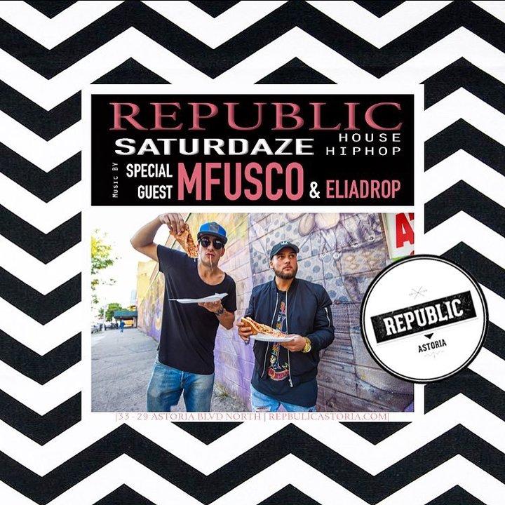 DJ MFUSCO @ Republic - Astoria, NY