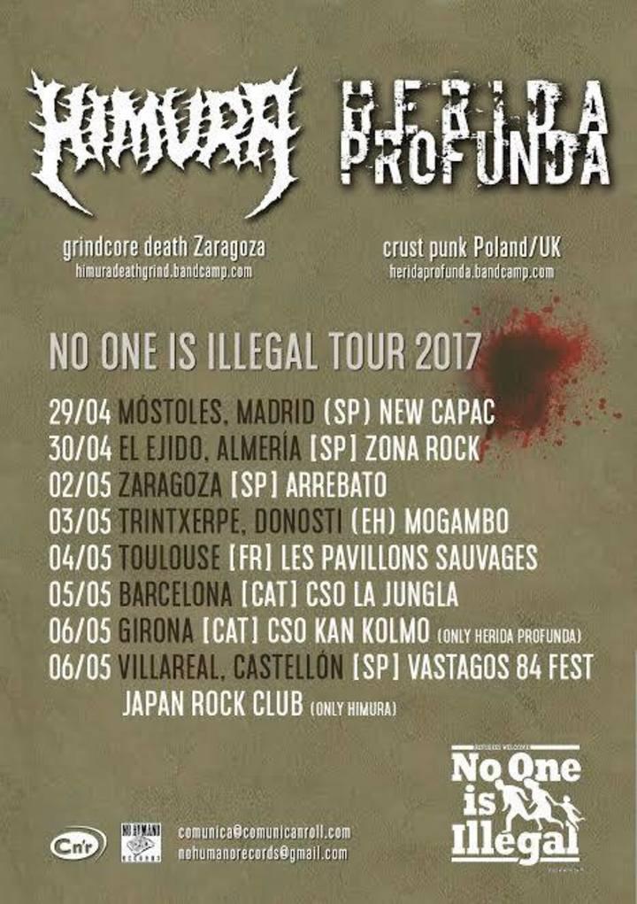 Himura grind Zaragoza (oficial) Tour Dates